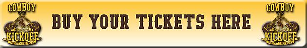 Cowboy Kickoff Ticket Button